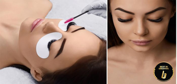 eyelash extensions in Raffles Place and Bukit Timah
